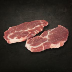 Steak d'échine de porc...