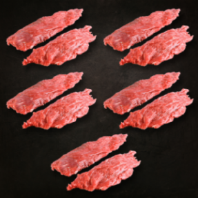 Bavette d'aloyau x10 1,6-1,7kg