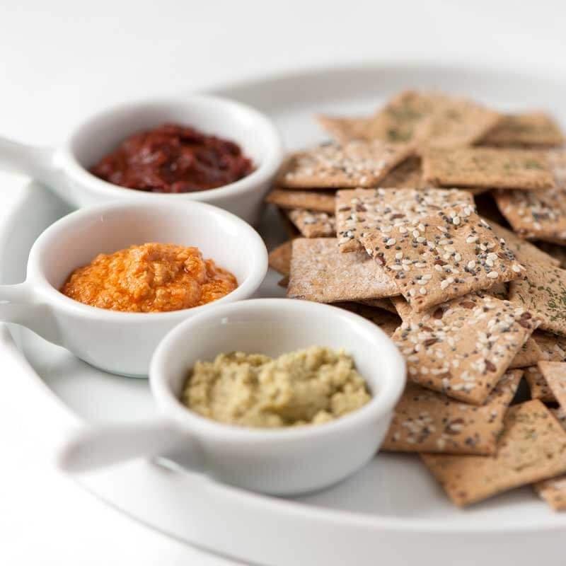 MILLE ET UNE HUILES - Crackers, tartinables et autres découvertes culinaires