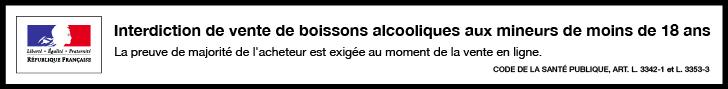 Interdiction de ventes de boissons alcooliques aux mineurs de moins de 18 ans